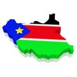 sydliga sudan Royaltyfria Bilder
