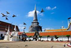 sydligt tempel thailand för mahathatpagoda Royaltyfria Foton
