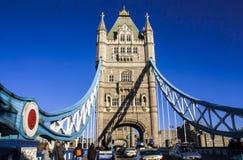 Sydligt torn för tornbro Arkivfoto