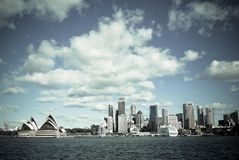 Sydney. Opera house HDR panorama Stock Photos