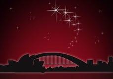 Sydney. At night with opera Stock Photo