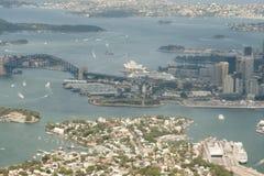 Sydney Aerial View Imagenes de archivo