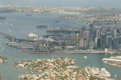 Sydney Aerial View - Australia Royalty Free Stock Photography