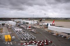 Sydney Airport Royalty Free Stock Photos