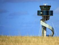 Sydney Airport Control Tower. Control Tower at Sydney Airport, Australia Stock Photos