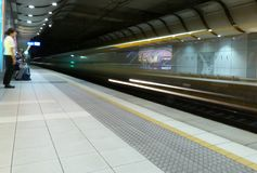 Sydney Airport Domestic Railway Station Royalty Free Stock Image
