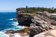 Sydney al comienzo de la raza de Hobart fotos de archivo libres de regalías