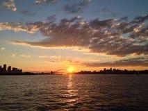 Sydney al tramonto Fotografie Stock Libere da Diritti