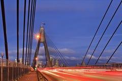Free Sydney Anzac Bridge Ropes Sunset Stock Photography - 39882712