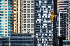 Sydney Apartment Wall fotografia stock