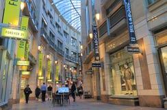 Sydney arcade shopping street Australia Stock Photography
