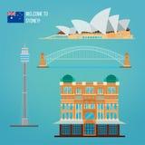 Sydney Architecture. Tourism Australia Stock Photography