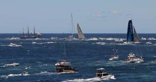 Sydney au chemin de yacht de Hobart. Sydney, Australie Images stock