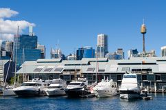 Darling Harbour, Sydney, Australia Royalty Free Stock Photos