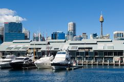 Darling Harbour, Sydney, Australia Royalty Free Stock Photography
