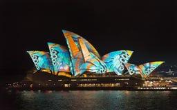 Sydney, Austrália 7 de junho de 2017 a exposição clara vívida anual foto de stock royalty free