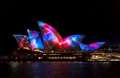Sydney, Austrália 7 de junho de 2017 a exposição clara vívida anual fotografia de stock royalty free