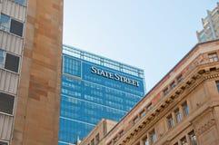SYDNEY, AUSTRÁLIA - 5 DE MAIO DE 2018: Banco h do corporaçõ de State Street imagem de stock