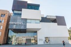 SYDNEY, AUSTRÁLIA - 16 DE NOVEMBRO DE 2014: Sydney Contemporary Art Museum fotografia de stock royalty free