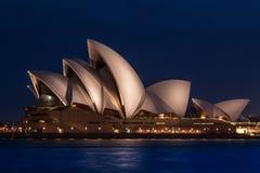 Teatro da ópera de Sydney Foto de Stock Royalty Free