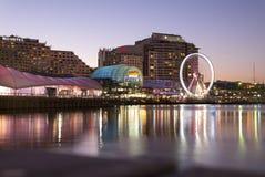 SYDNEY, AUSTRÁLIA - Sept 15, 2015 - Sydney Darling Harbour Imagens de Stock