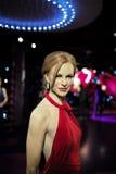 SYDNEY, AUSTRÁLIA - Sept 15, 2015 - um modelo em tamanho natural da cera de uma celebridade na senhora Tussauds Sydney Fotos de Stock