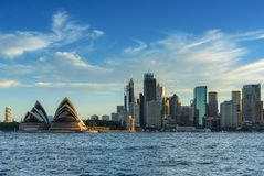 SYDNEY AUSTRALIË - 12,2017 Maart: Mening van Sydney Opera House Sy Royalty-vrije Stock Afbeeldingen