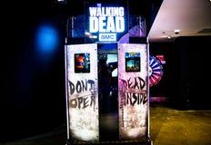 The walking dead arcade game at City Amusements Level 3 Market City. SYDNEY, AUSTRALIA. – On November 11, 2017. - The walking dead arcade game at City stock photos