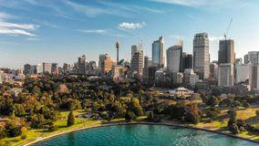 Free Sydney, Australia. Aerial View Of City Harbour With Buildings An Stock Images - 129075974