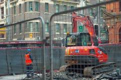 Construction work,Sydney Royalty Free Stock Image