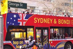 Sydney sightseeing tour Stock Photos
