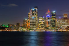SYDNEY, AUSTRALIA. Central Business of the city Royalty Free Stock Images