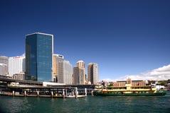Sydney Australia city skyline tower blocks. Stock Image