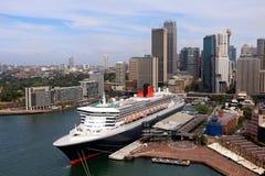 Sydney, Australia dal ponte del porto Fotografia Stock Libera da Diritti