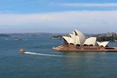 Sydney, Australia dal ponte del porto Immagine Stock Libera da Diritti