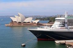 Sydney, Australia dal ponte del porto Immagini Stock Libere da Diritti