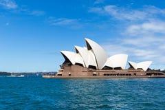 SYDNEY, AUSTRALIA - 22 DE MARZO DE 2015: Vista lateral de la mayoría de la f de Sydney Fotos de archivo libres de regalías