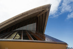 SYDNEY, AUSTRALIA - 22 DE MARZO: Vista lateral de Sydney más famosa Foto de archivo libre de regalías