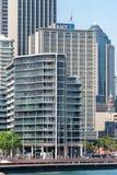 SYDNEY, AUSTRALIA - 5 DE NOVIEMBRE DE 2014: Sydney Business Architecture puerto ¿Las rocas? qué los tienen que hacen abajo allí? Fotos de archivo