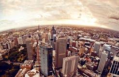 Sydney Australia de stad in Royalty-vrije Stock Foto