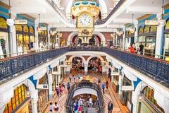 People shop at Queen Victoria Building in Sydney, Austalia. Stock Photo