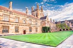 Quadrant Building at University of Sydney, Australia. Stock Image