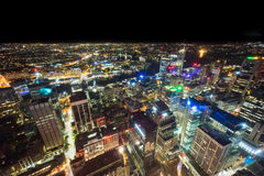 Sydney, Australia - December 30, 2015: Aerial view of the Centra Royalty Free Stock Image