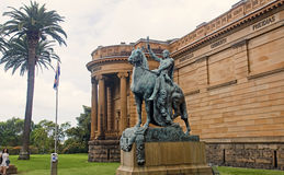 SYDNEY, AUSTRALIA - DECEMBER 2014: Art Gallery of New South Wa Stock Images