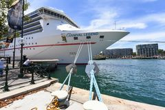 Carnival Legend Cruise Ship stock photography