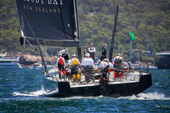 Sydney to Hobart yacht race 2016 Royalty Free Stock Images
