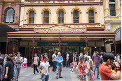 Sydney, Australia - 26 dicembre 2015: Folla della gente al fa Fotografia Stock