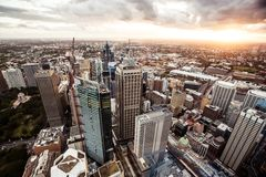 Sydney Australia du centre Photo stock