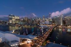 SYDNEY, AUSTRALIA - 28 febbraio 2017: Scena di notte del tesoro H Fotografia Stock