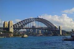 Australia, Sydney, Harbour Bridge Royalty Free Stock Photos